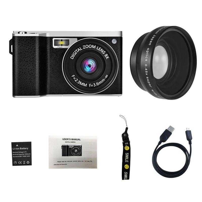 Image 2 - X9 4 Inch Ultra Hd Ips Press Screen 24 Million Pixel Mini Single Camera Slr Digital Camera-in 360° Video Camera from Consumer Electronics