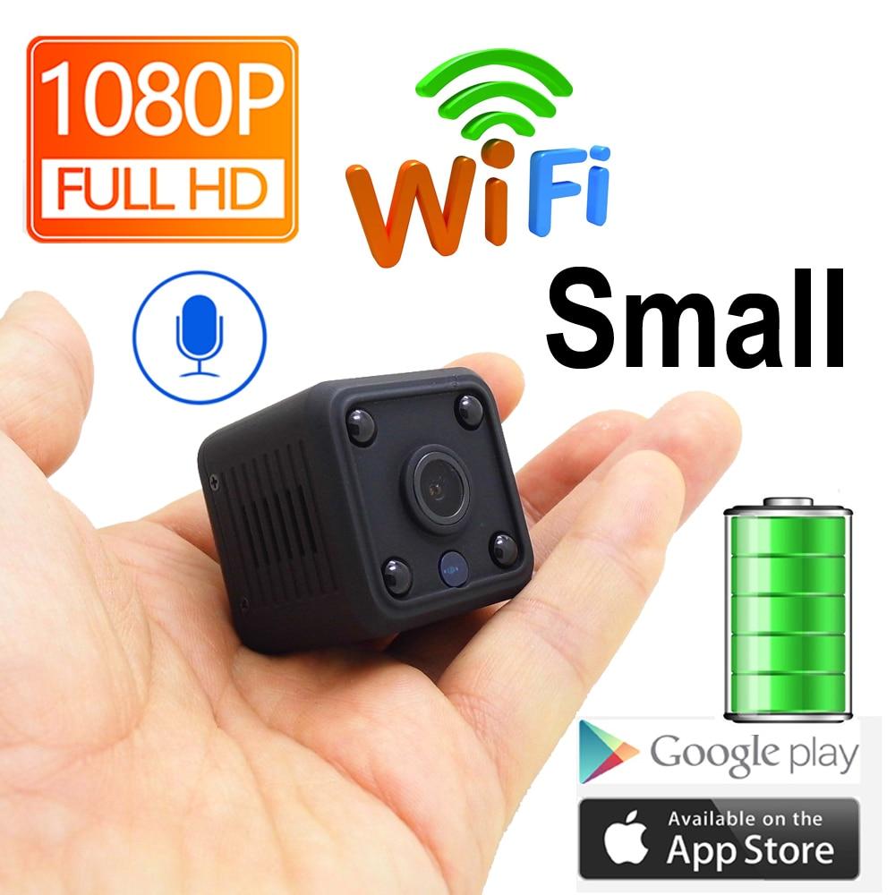 JIENUO 1080 P Mini caméra WiFi caméra Ip batterie IpCam Cctv sans fil sécurité HD Surveillance Micro caméra Vision nocturne moniteur à domicile