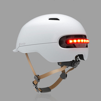 Smart4U Upgraded SH50 Bike Bicycle Smart Helmet Light Sensing Braking Warning LED Breathable Party Supplies For XIAOMI
