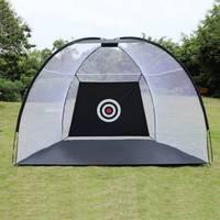 2/3 m de Golfe Gaiola Prática Net Treinamento Indoor Esporte Ao Ar Livre Jardim Equipamento De Golfe Exercício Trainer