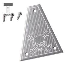 Tooyful Truss Rod Cover Plate with 3 Pcs Mounting Screws for Jackson Electric Guitar(China)
