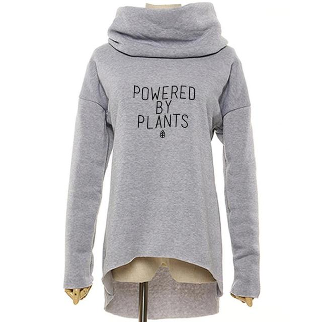 Powered by Plants Printed Sweatshirt