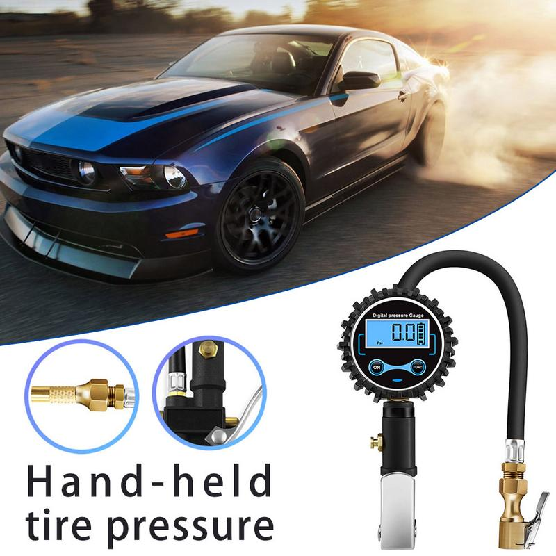 Handheld Tire Pressure Gauge Meter TPMS Digital High Quality 2019 New