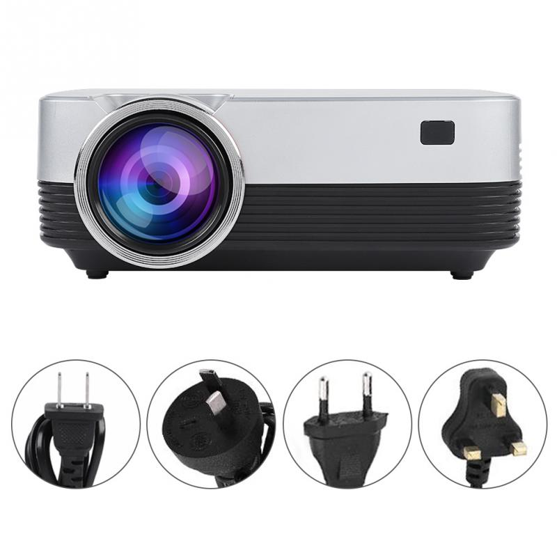 Portable LED Mini 1080P HD Home Projector WiFi BT4 0 HDMI 3 5mm for Android 110