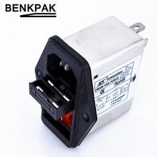 10 А мощность EMI фильтр с большой кулисный переключатель и разъем CW2B-10A-T(003