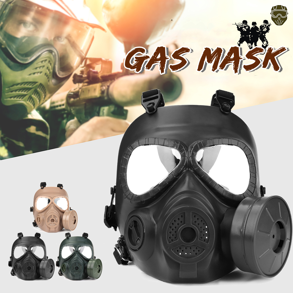 Kids Costumes & Accessories Smart Black Gothic Rock Military Anti-fog Haze Steampunk Gas Mask Respirator Filter Halloween Party Masks Anime Cosplay Accessories Boys Costume Accessories