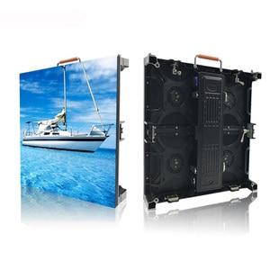 Image 3 - 500x500 mét trong nhà rgb led hiển thị màn hình p3.91 trong nhà die cast nhôm tủ cho thuê video quảng cáo tường màn hình led