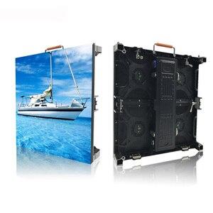 Image 3 - 500x500mm indoor rgb led scherm p3.91 indoor gegoten aluminium kast voor verhuur reclame video wall led scherm