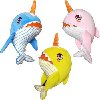 Singing baby shark plush toy