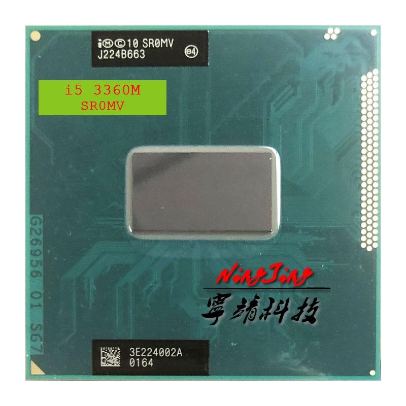 Intel Core i5 3360M i5 3360M SR0MV 2 8 GHz Dual Core Quad Thread CPU Processor