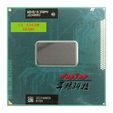 Процессор Intel Core i5 3360M SR0MV 2,8 ГГц, двухъядерный четырехъядерный процессор 3 м 35 Вт G2 / rPGA988B