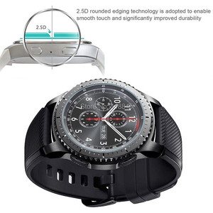Image 5 - VSKEY 100PCS Tempered Glass For Huawei Watch GT Active GT Elegant Round Smart Watch Screen Protector Protective Film