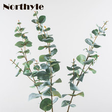 Northyle Artificial plants Eucalyptus - 26.77 Length Fake Greenery Grass Wedding Decoration faux Plants Home