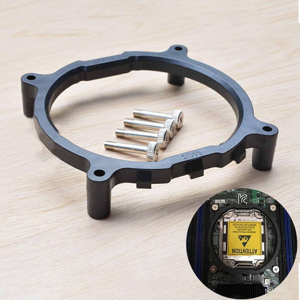 Кулер Вентилятор Кронштейн Поддержка компьютерная материнская плата Замена настольного процессора радиатор База аксессуары с винтами круглый для Intel