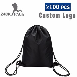 الرياضة الرباط حقيبة جديد مخصص الطباعة شعار حقيبة التخزين رسم سلسلة سحب حبل الذكور الطالبات على ظهره