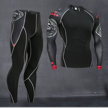 new men thermal quick compression underwear set drying men Suit clothing warm men heat thermal track