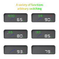 High Temperature Resistance OBD 2 Car Speeding Warning Auto Accessories Digital Practical Universal Projector Head Up Display
