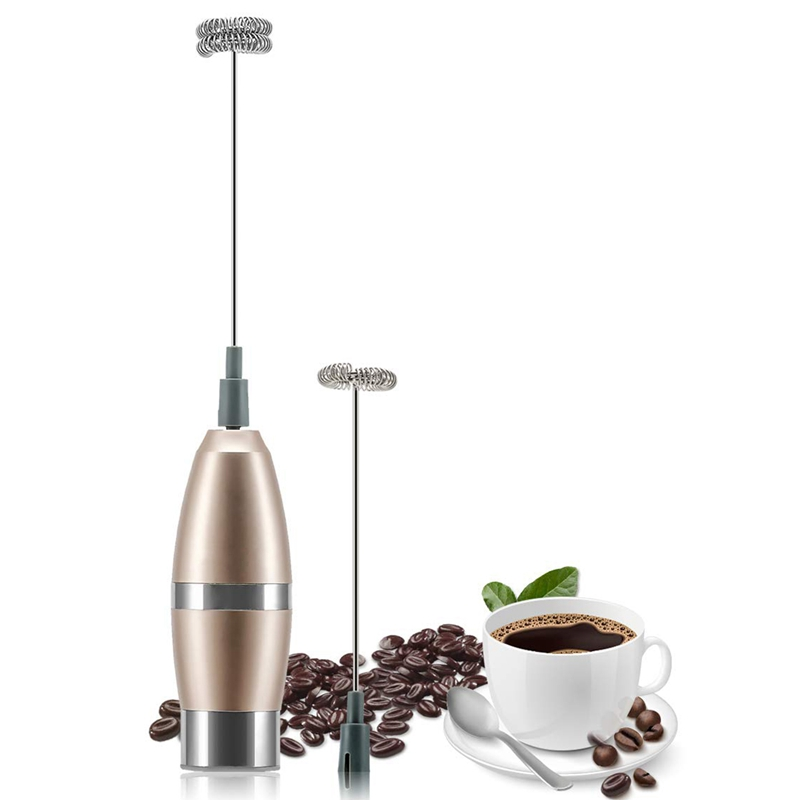HOT Sell Milk Frother Handheld Whisk - Battery Operated Electric Foam Maker Frother For Milk Coffee Latte, Cappuccino, Chocolate