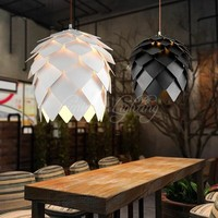 European OAK Pinecone Wood wooden Pendant Lights Lamps Vintage DIY Creative Edison Bulb Japan Rural Suspension Hanging Lamparas