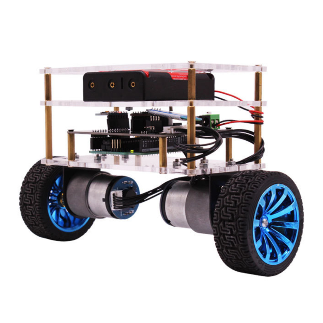 Balance Robot Car Compatible with Arduino Electronics Programmable Kit Education Robotics Support C Language for Kids and AdultBalance Robot Car Compatible with Arduino Electronics Programmable Kit Education Robotics Support C Language for Kids and Adult