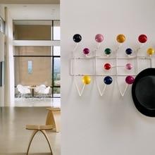Multicolor Hange meble wieszak na płaszcze stojak na piłkę milti purpose hak na ozdoby ścienne na prezent dla dzieci torba metalowa wystrój.