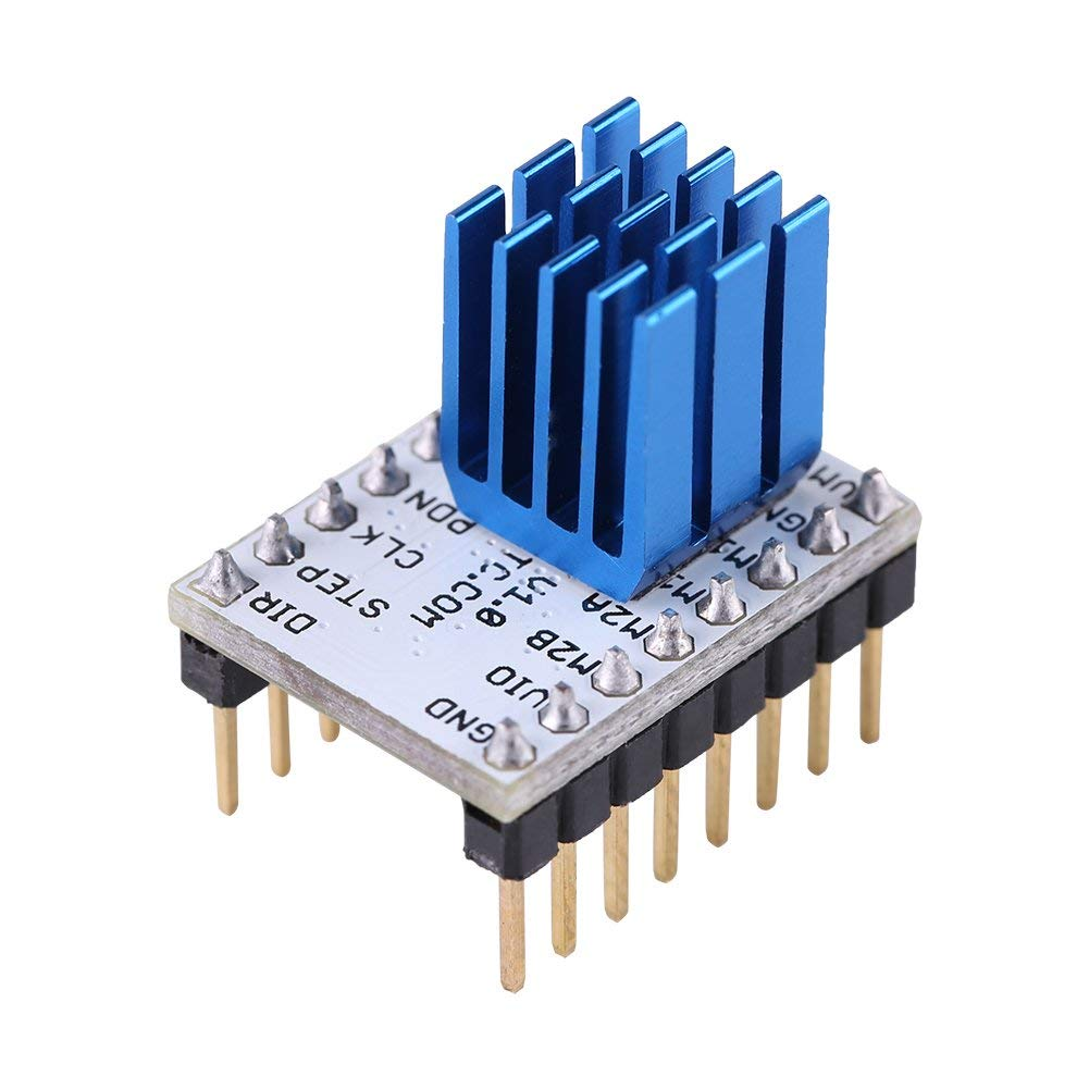 5pcs TMC2208 Stepping Motor Mute Driver Stepstick Power Tube Built-in Driver Current 1.4A Peak Current 2A Replace TMC2100 Modu5pcs TMC2208 Stepping Motor Mute Driver Stepstick Power Tube Built-in Driver Current 1.4A Peak Current 2A Replace TMC2100 Modu