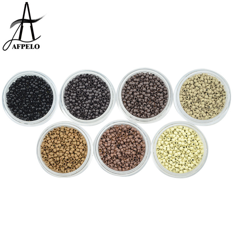 Wholesale 50000pcs Nano Rings Micro Beads for Pre Bonded Nano Tip Tipped Nano Micro Bead Extensions