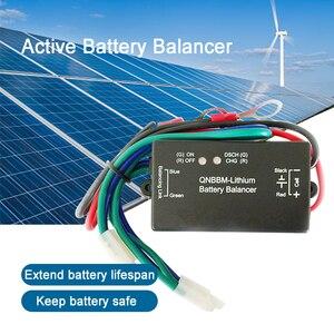 Image 1 - 4pcs a lot QNBBM Battery Balancer lithium ion Battery 1S Active Balancer Equalizer  for 12V100AH 12V400AH 12V700AH 1000AH Pack