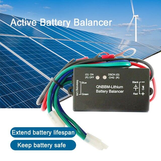 4pcs a lot QNBBM Battery Balancer lithium ion Battery 1S Active Balancer Equalizer  for 12V100AH 12V400AH 12V700AH 1000AH Pack