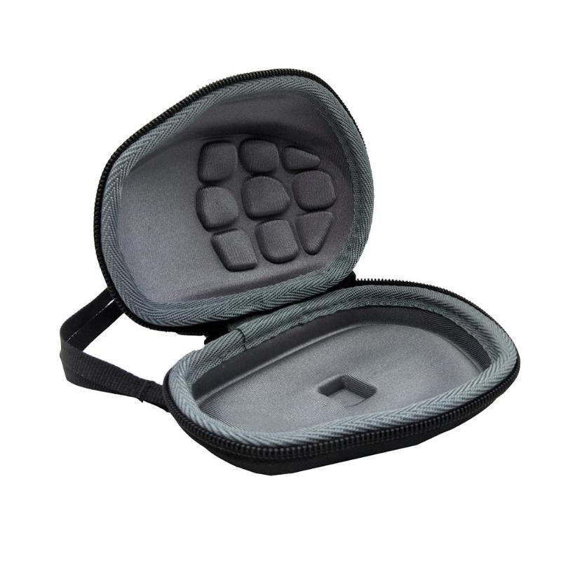 EVA Hard Travel Carrying Case Storage Bag Portable Mouse Protection Zipper Bag for Logitech MX Master /Master 2S Wireless Mouse