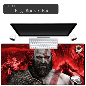 Alfombrilla de ratón XGZ 900 400 para juegos, teclado God of War, decoración de oficina, alfombrilla de escritorio, alfombrilla de ratón rosa con Control de bordes de goma para ordenador