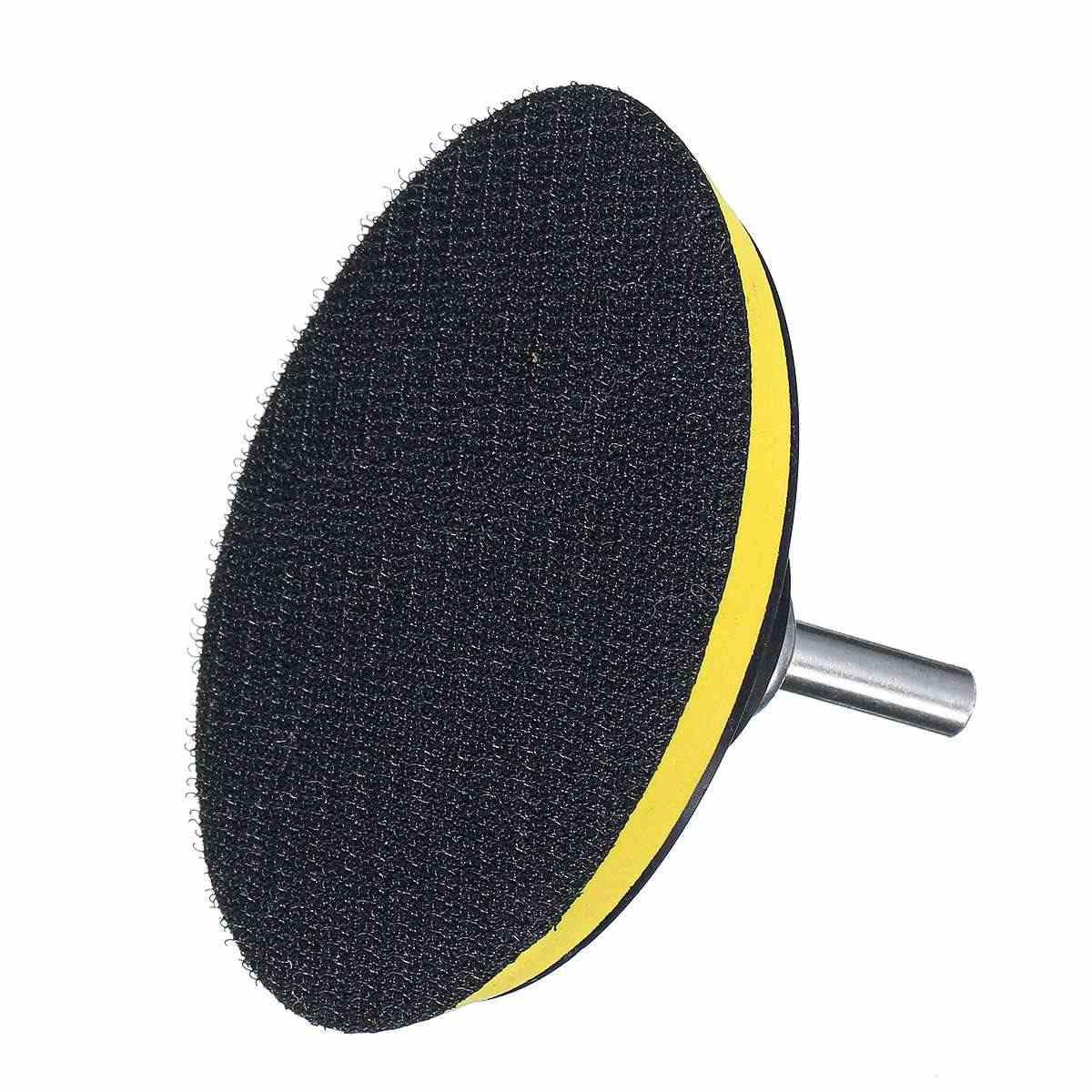 11 pcs 100mm/4 ברוטו חיץ מתחם שעווה ליטוש גלגל כלי ספוג Pad תרגיל מתאם ערכת סט עבור אוטומטי רכב לטש