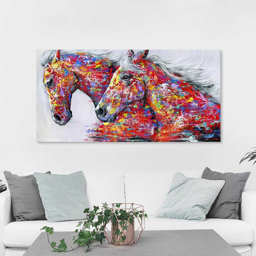 Horse canvas art 2