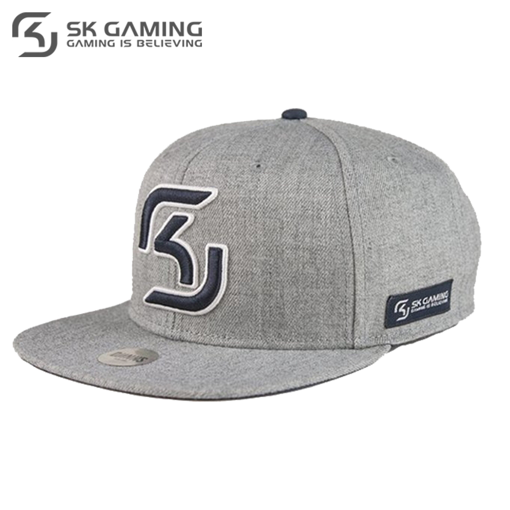 Baseball Caps SK Gaming FSKSNPCAP17GY0000 Hats Caps peaked cap for boys and girls girl boy summer snapback League of legends unisex letter w embroidery denim washed baseball cap vintage adjustable snapback hat