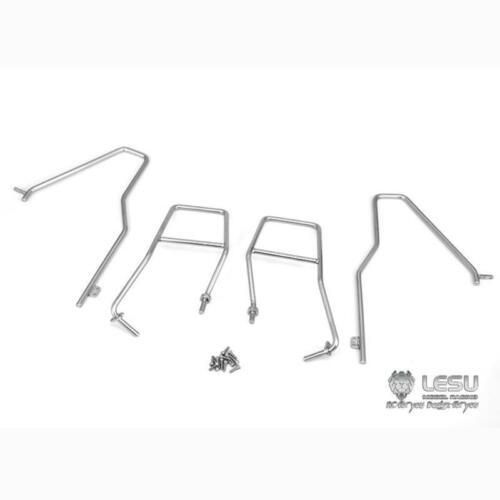 LESU Metal Bumper for 1/15 Hydraulic Loader RC Car Model Spare Parts
