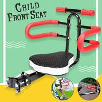Foldable Bike Bicycle Child Safety Front Seat With Pedal Children Kid Baby Carrier For Electric Car Mountain Bike Bicycle Etc