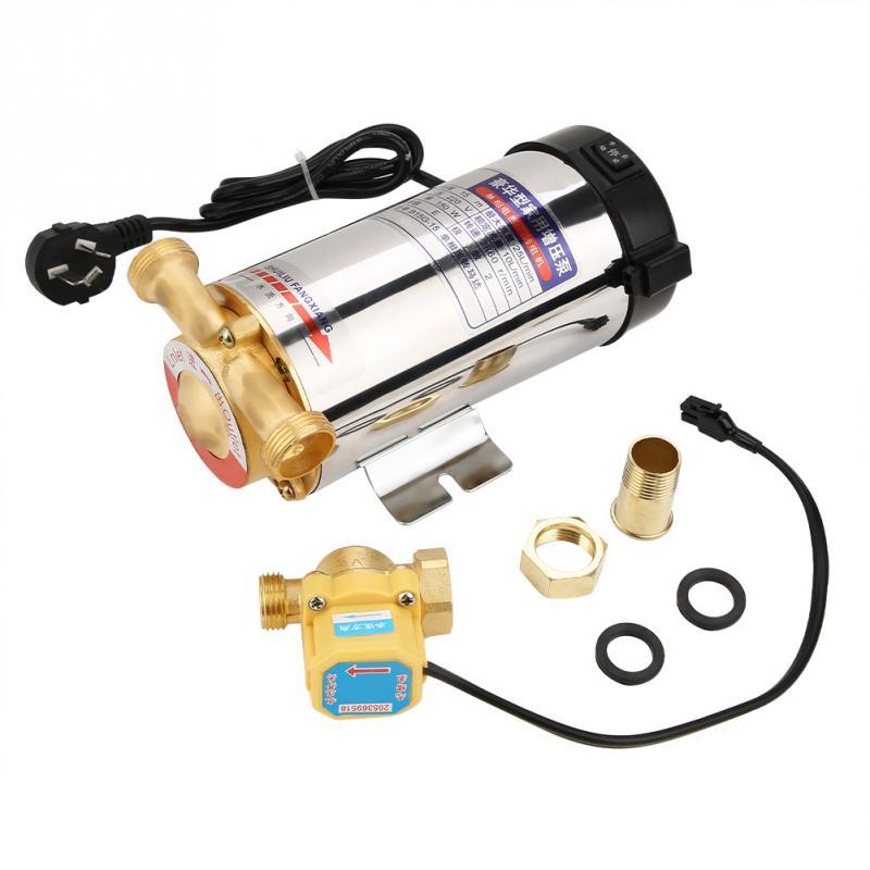 220V Water pump 150W Auto Boost Pump Household Stainless Steel Auto Boost Pump for Tap Water Pipeline CN plug Bomba de agua