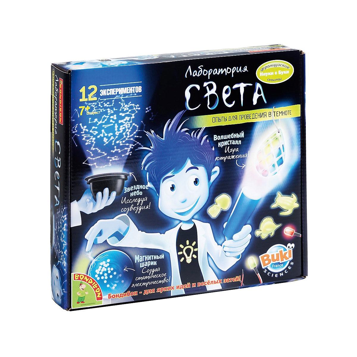 Bondibon Science 4993324 Experiments for children Educational toys Training toy Learning & Education MTpromo цены