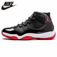 Nike Air Jordan 11 Concord aj11 Bred Men Laceup Comfortble Basketball Shoes Jordan XI Retro Shock Absorption  Sneakers #378037