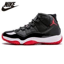 d54e6d07df018 Nike Air Jordan XI criado AJ 11 Original nueva llegada de los hombres  zapatos de baloncesto de estilo de vida cómodo deportes za.