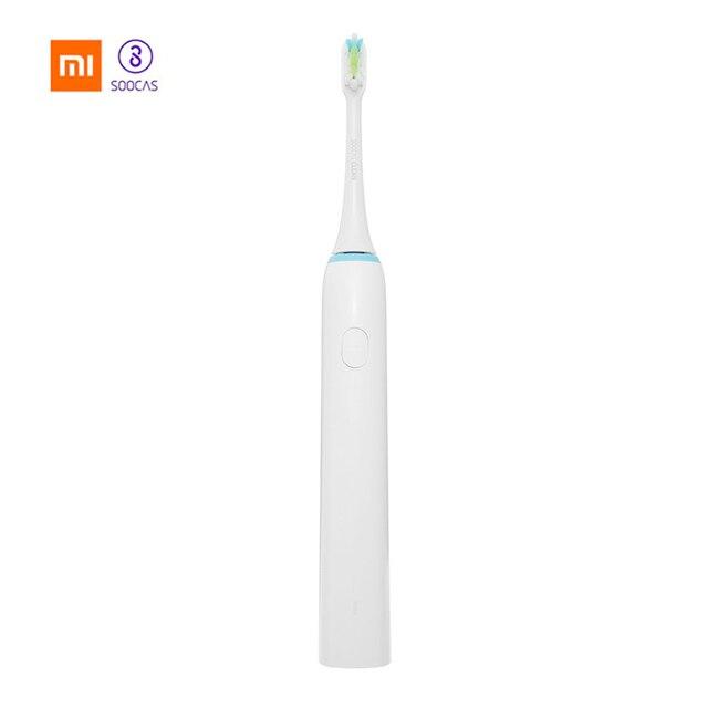 Xiaomi Mijia SOOCAS X1 impermeable recargable cepillo de dientes eléctrico ultrasónica impermeable cepillo de dientes inteligente cuidado Dental