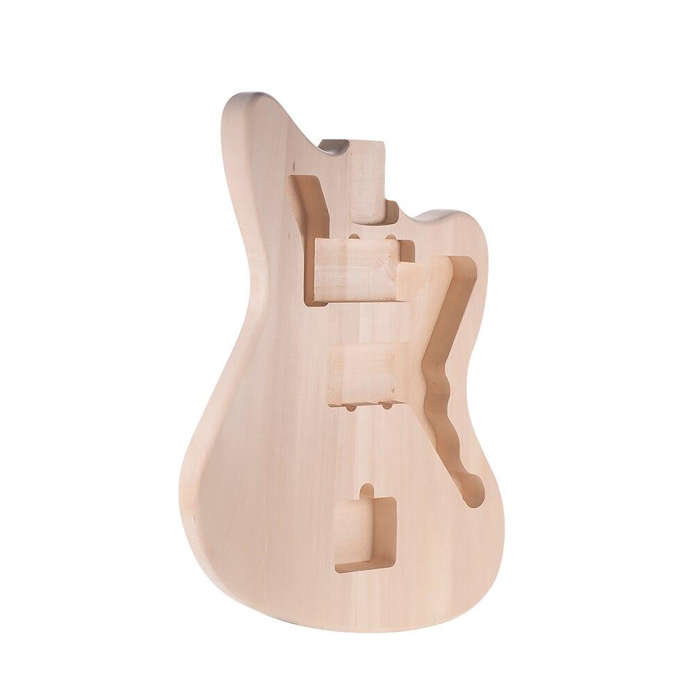 Muslady MZB T DIY Elektrische Gitarre Unfinished Körper Gitarre Barrel Blank Linde für Mustang Guiatrs Gitarre Körper Ersatz Teile-in Elektrische Gitarre aus Sport und Unterhaltung bei AliExpress - 11.11_Doppel-11Tag der Singles 1