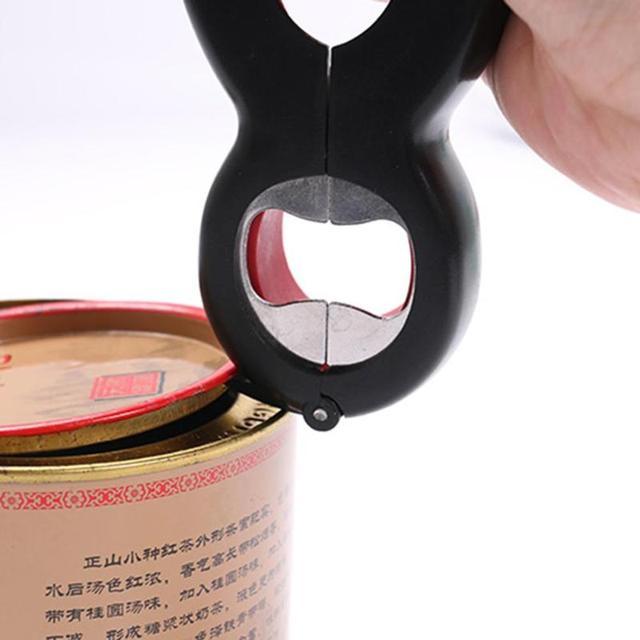 6 in 1 Multi Funzione Può Bottiglia di Birra Opener Tutto in Un Vaso Pinza Lattina di Birra Coperchio Twist Off Vaso apri del vino Artiglio VIP Dropship 3