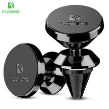 FLOVEME Magnetic Car Phone Holder For iPhone X 360 Degree GPS Navigation Air Vent Magnet Mount Stand Holder Soporte movil auto