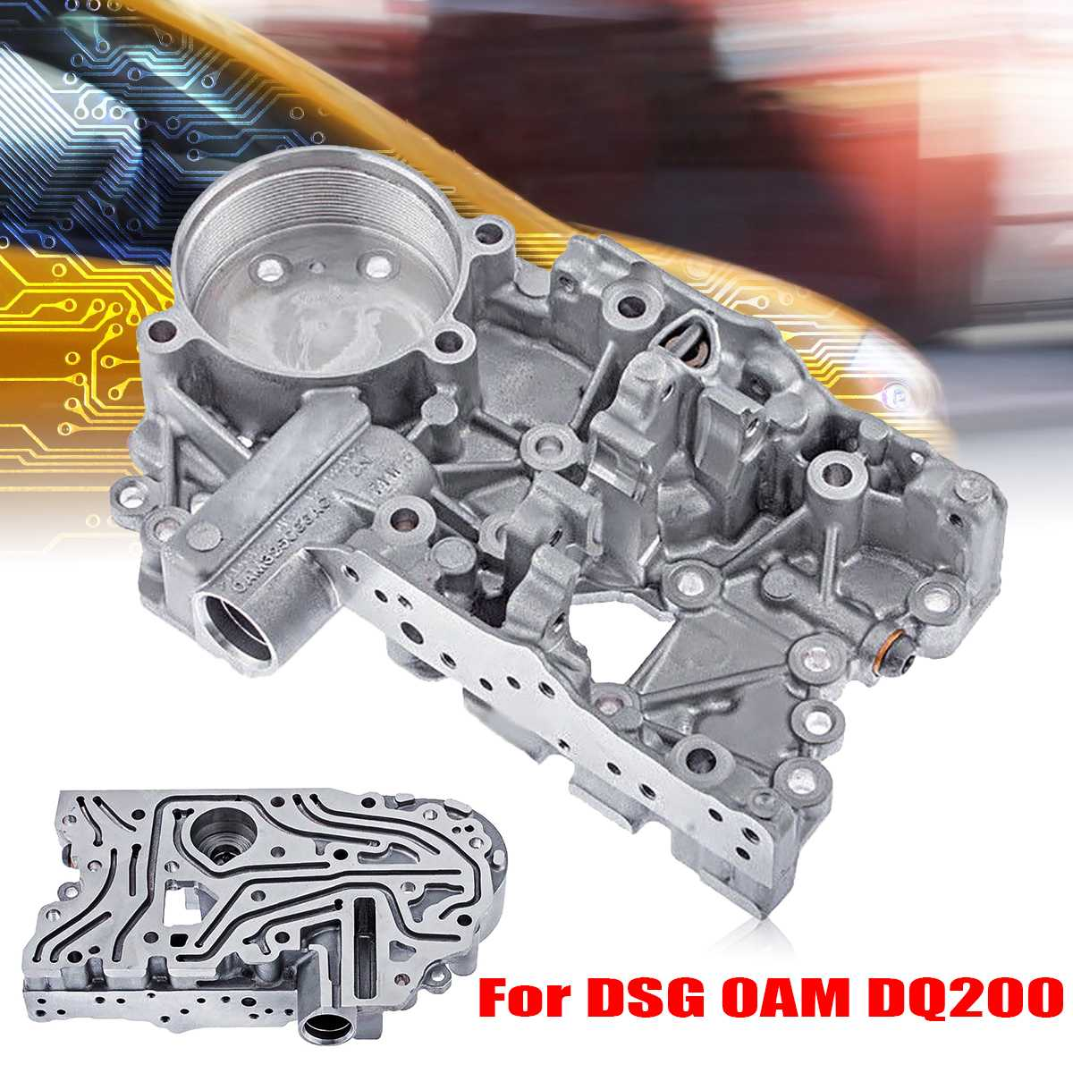 DQ200 DSG Valvebody Accumulator Housing Metal For Audi/VW 0AM325066AC 0AM325066C 0AM325066R Auto Replacement PartsDQ200 DSG Valvebody Accumulator Housing Metal For Audi/VW 0AM325066AC 0AM325066C 0AM325066R Auto Replacement Parts