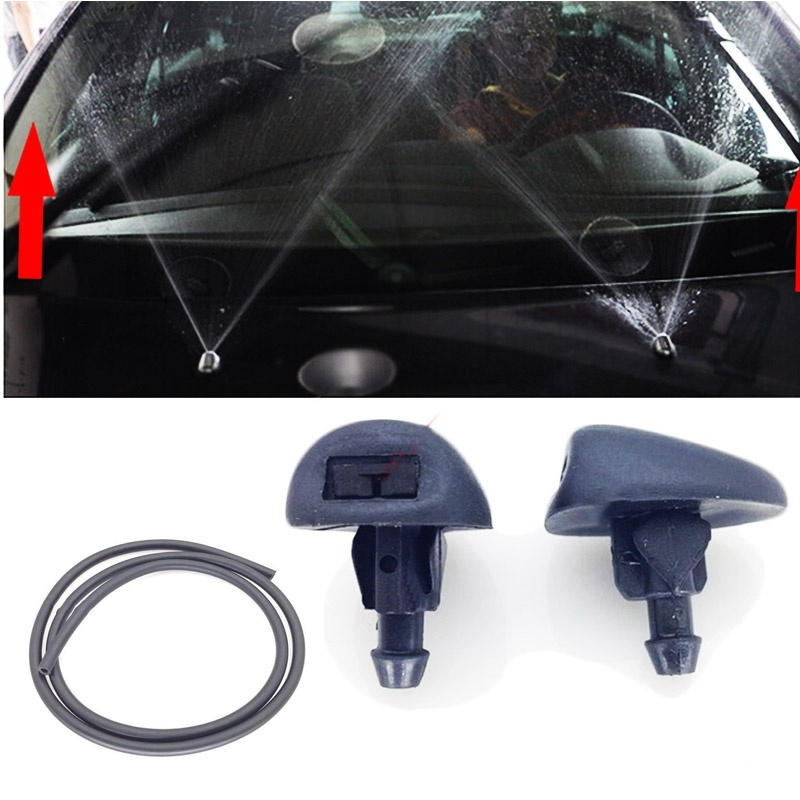 2pcs/set Fan Shaped Water Spray For Citroen C5 For Peugeot 307 308 408 Head Refires Special Wiper Spray Jet Washer-in Auto Fastener & Clip from Automobiles & Motorcycles