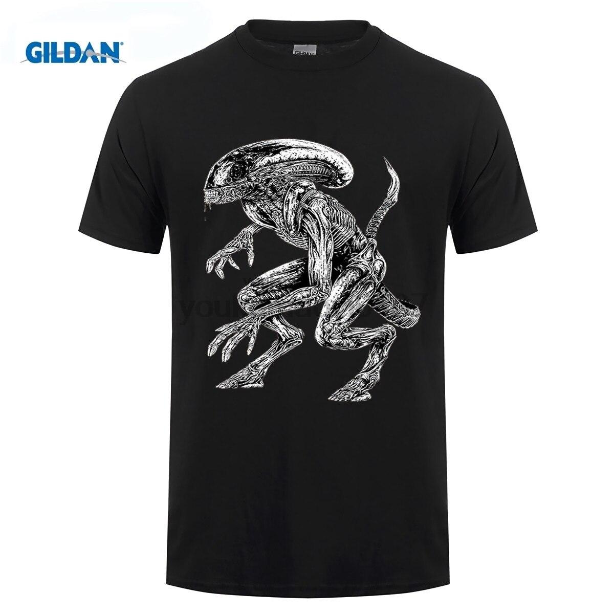 GILDAN designer t shirt AVP ALIEN VS predator T shirt Top Lycra Cotton Men T shirt New Design High Quality in T Shirts from Men 39 s Clothing