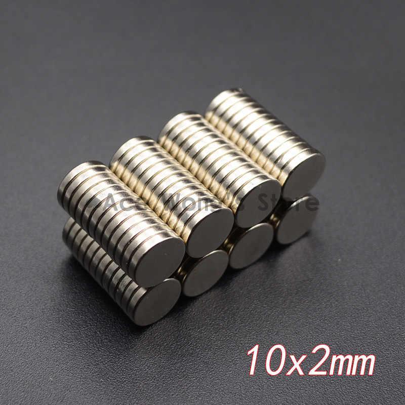 10 sztuk Mini małe N35 okrągły magnes 5x1 6x3 8x3 10x1 10x2 12x2mm neodymowy magnes stały neodymowy Super silny potężne magnesy