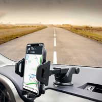 Arvin Multi-función sostenedor del teléfono del coche del parabrisas del tablero para iPhone xiaomi teléfono móvil soporte smartphone voiture