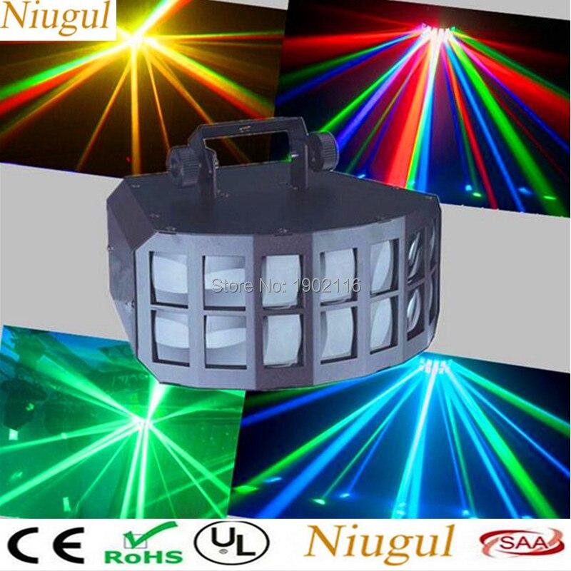 50 W RGBW led Double guirlande lumineuse papillon led Faisceau Feux à Effet de Scène KTV Bar Disco Éclairage Le Infini Épée led Scan effet de lumière